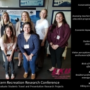 Eight (8) RPA Graduate Students Presented at the SEER Conference in Athens, GA!