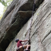 Rock Climbing in the RRG, KY