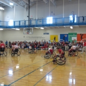 Model School Wheelchair Sport Exhibition - EKU - October 26th, 2012
