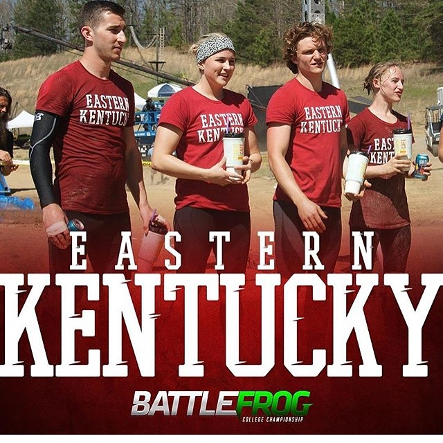 2016 EKU BattleFrog Team