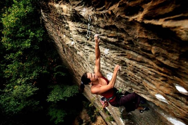 Red River Gorge route 8-ball Photo by Jim Winn
