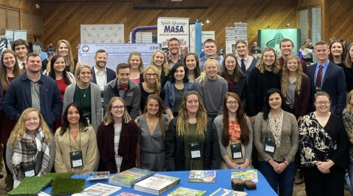 RPA students at the Annual KRPS Conference 2019 - Lake Barkley State Resort Park