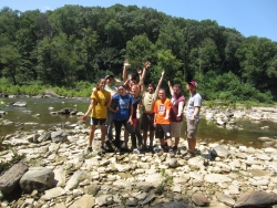 First Year Colonel Outdoor Recreation Experience (CORE) Backpacking Trip