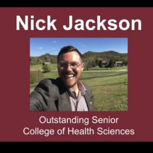 Nick Jackson CHS Deans Award Winner!
